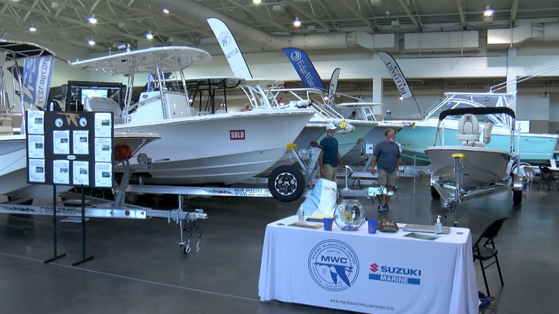 Wilmington Boat Show highlights strong demand for boats and marine products.