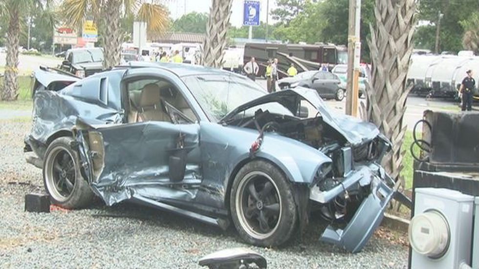 A man has been charged in the crash involving multiple cars on Market Street Saturday morning.