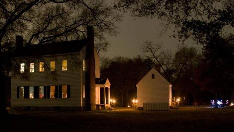 Historic Latta Plantation is located in Huntersville, just outside Charlotte.
