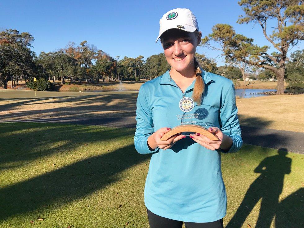 Laney grad Grace Holcomb qualifies for 2021 U.S. Girls' Junior Golf Championship