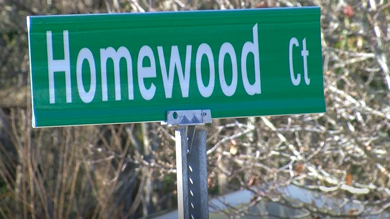 Neighbors say they're street name changed randomly without any notice.