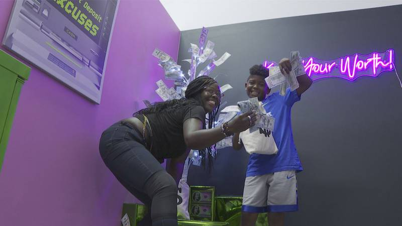 Owner Tiese Roxbury has opened The Self-Love Museum in Wilmington, where customers can find...