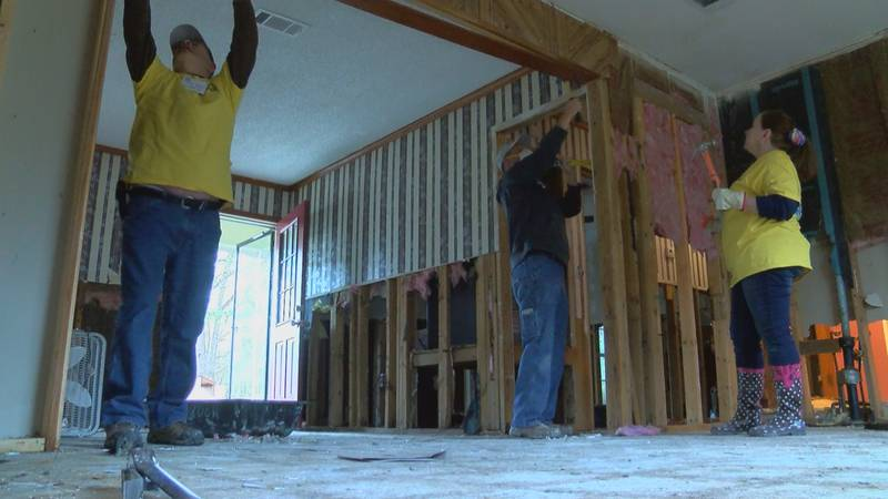 The 8 days of hope organization rebuilds homes, rebuilds lives… Proving they are Mississippi...
