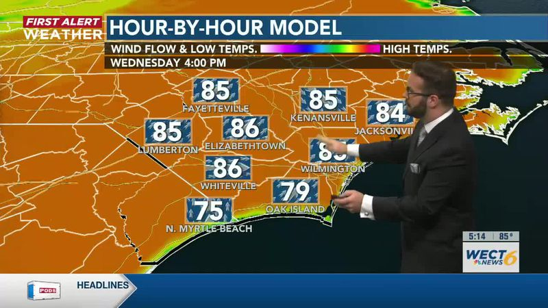 Your First Alert Forecast from Tue. Evening, Apr. 6, 2021