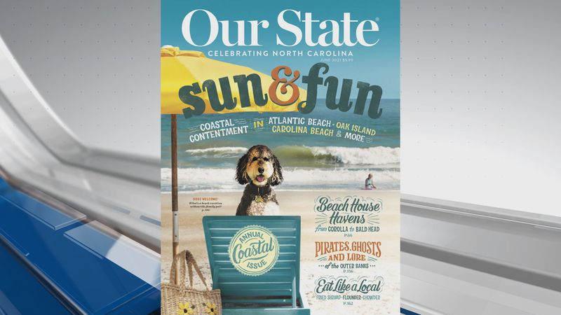 Kure Beach, Carolina Beach and Oak Island are all featured in the magazine (Source: Our State)