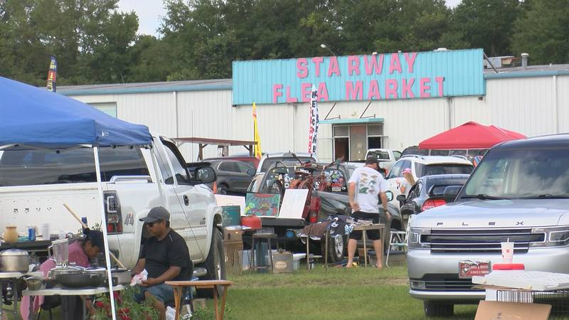 Starway Flea Market regulars are worried about the fate of their Sunday tradition.