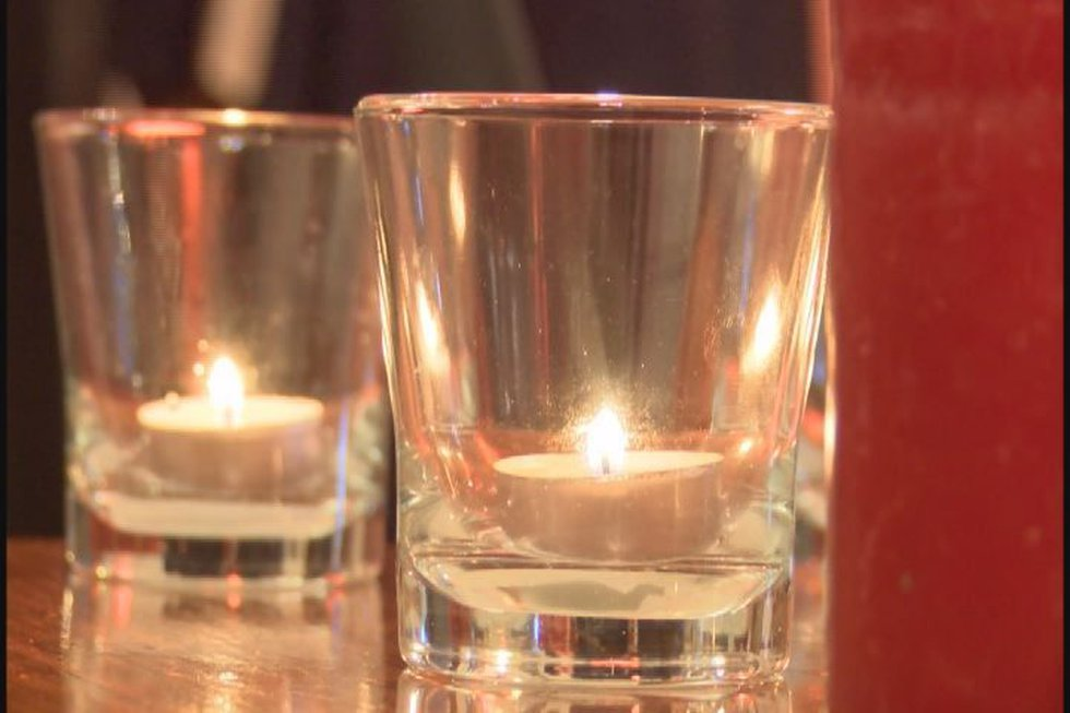 Prayer vigil candles