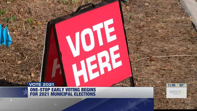 Hundreds take advantage of one-stop early voting