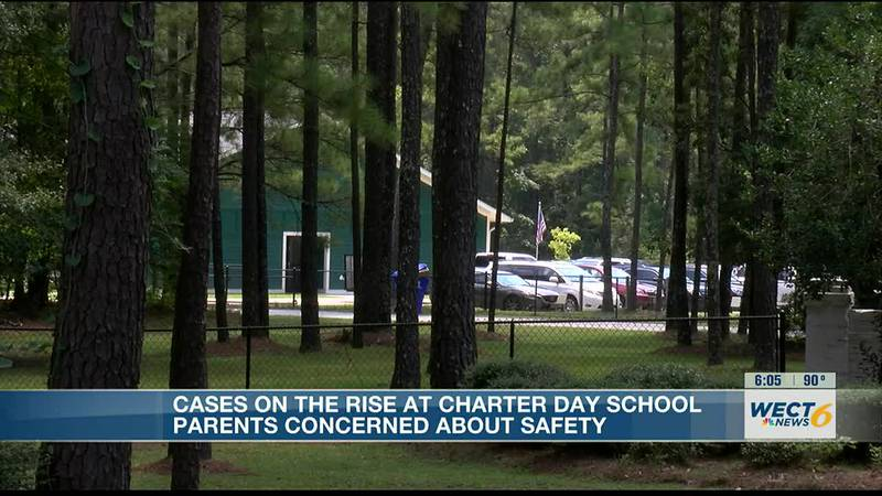 Parents concerned after school sends out notice of COVID-19 cases at Brunswick Co. charter school