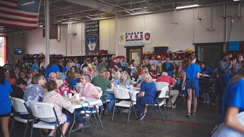 The annual Blueberry Pancake Breakfast in Burgaw. (Source: ncblueberryfestival.com)