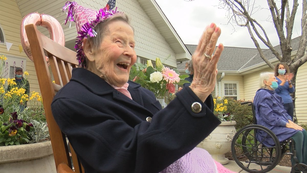 Virginia Briggs celebrated her 101st birthday Thursday in Southport with family and friends at...