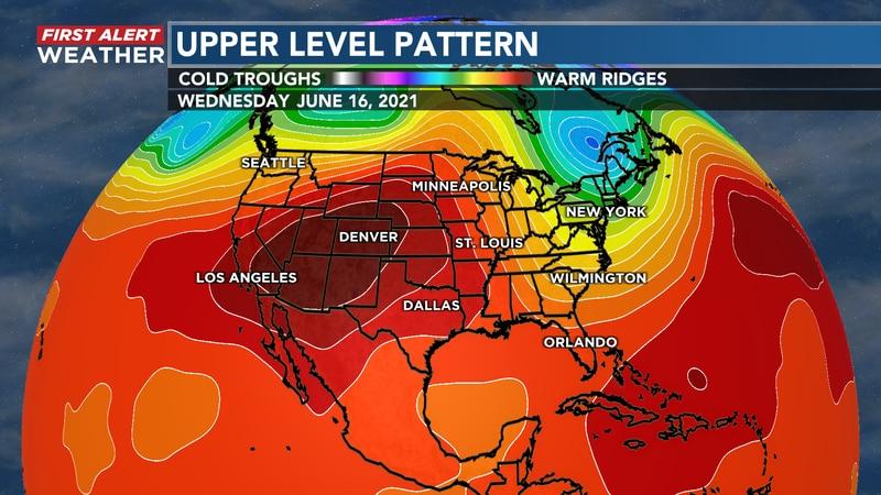 Nice SE NC June pattern