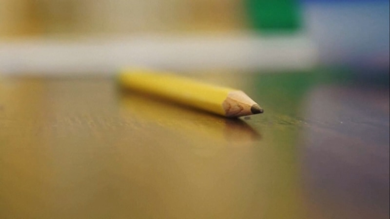 (FILE) Pencil in a classroom
