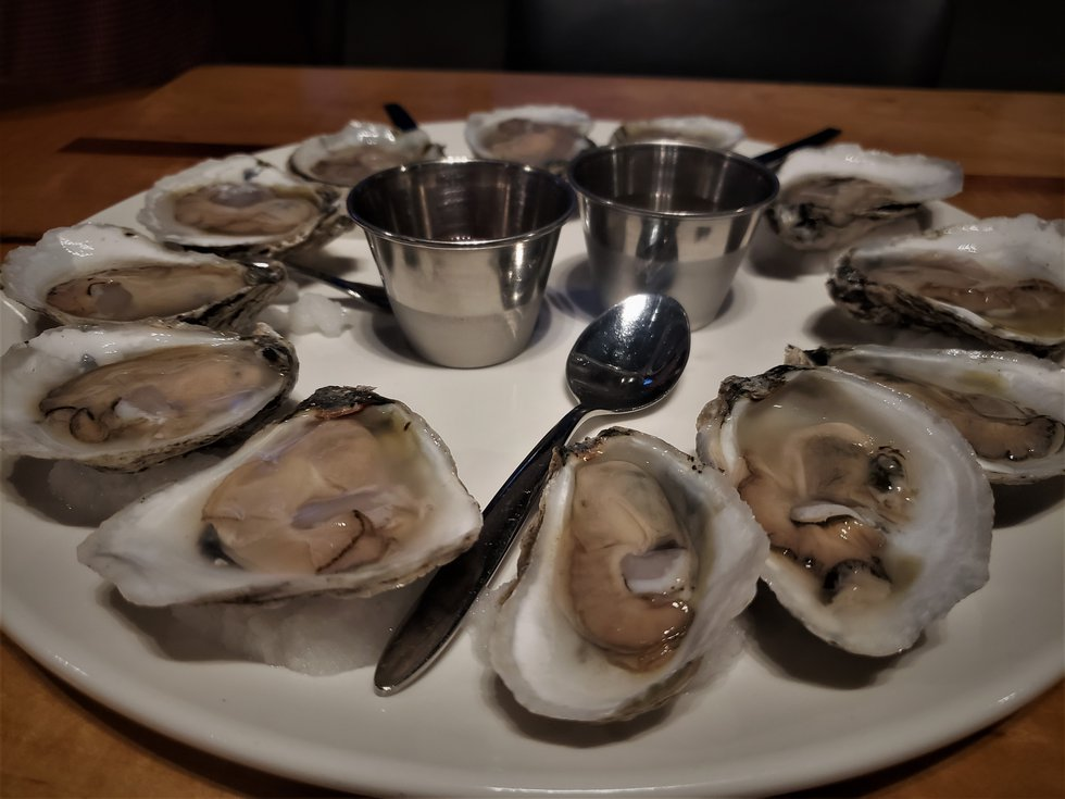 It's oyster season, and these shelled delicacies were perfect without homemade hot sauce and...