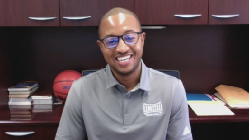 """UNCW Men's Basketball Coach Takayo Siddle is the guest on this week's  """"1on1 with Jon Evans""""..."""