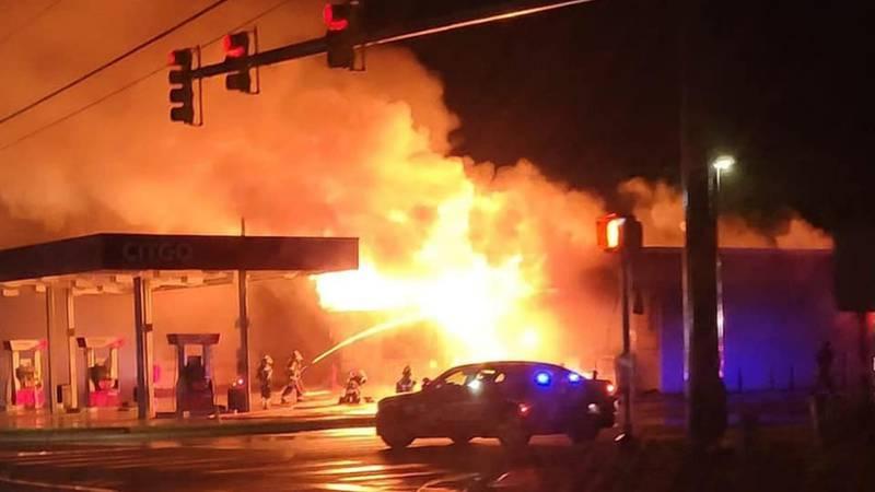 Leland Citgo fire
