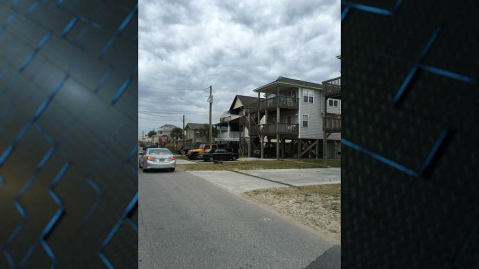 Damage done by an accidental fire in Surf City. (Source: Aidan Westerling)