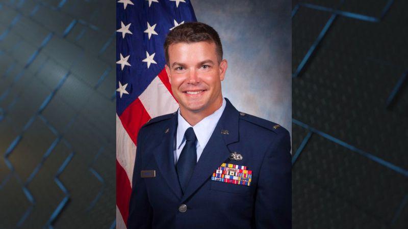 U.S. Air Force 2nd Lt. Christopher Rhoton
