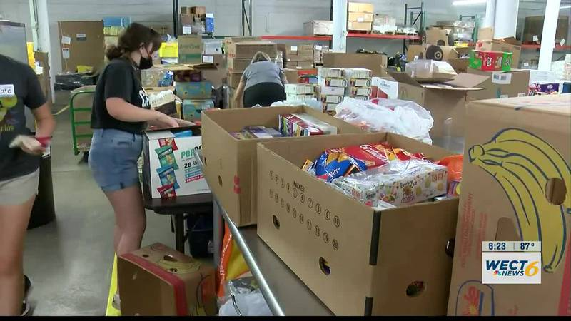 Donations to Stop Summer Hunger Drive provide meals for community