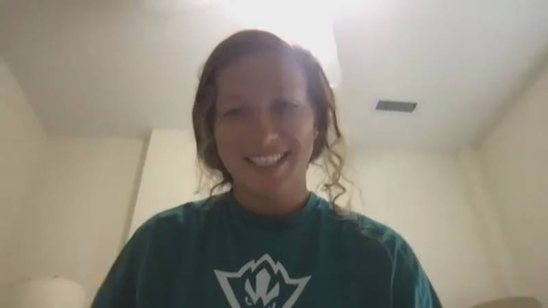 UNCW Women's Soccer player Blair Barefoot reacts to Simone Biles shining a light on mental...