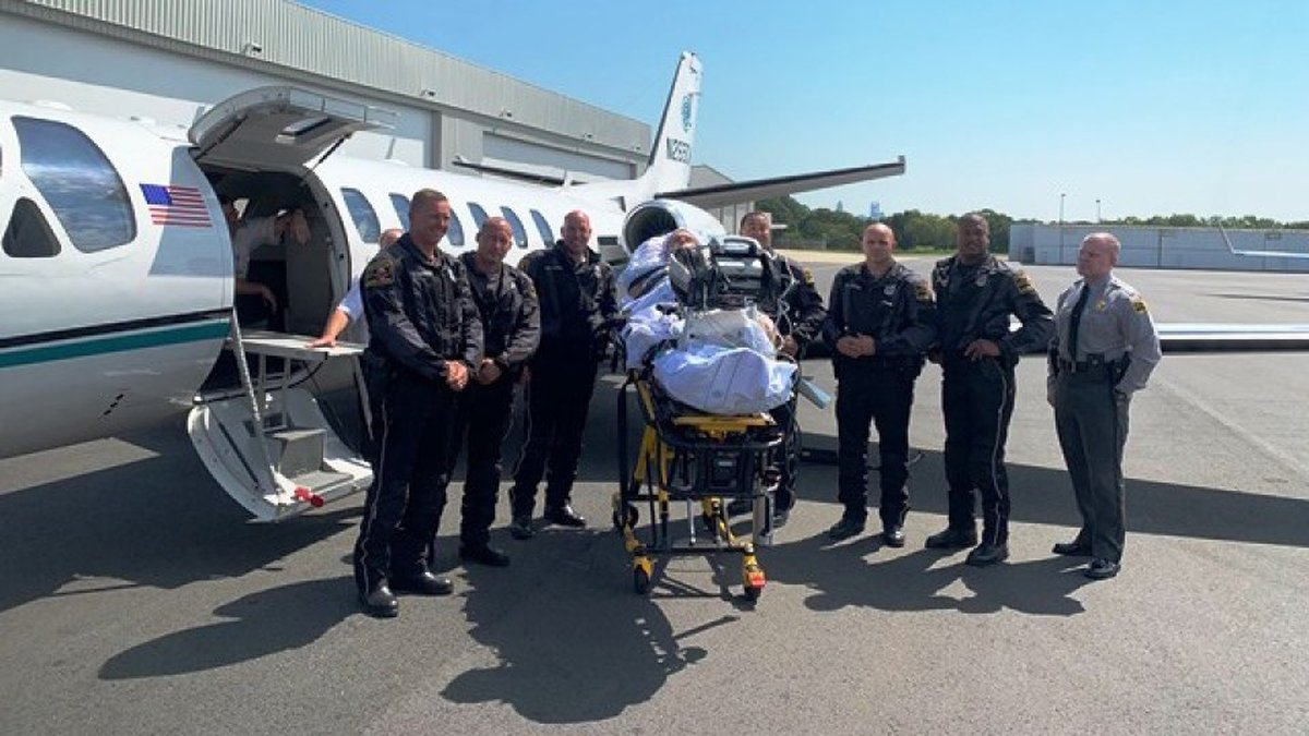 The Highway Patrol said a trooper seriously injured in a July 22 collision has received...