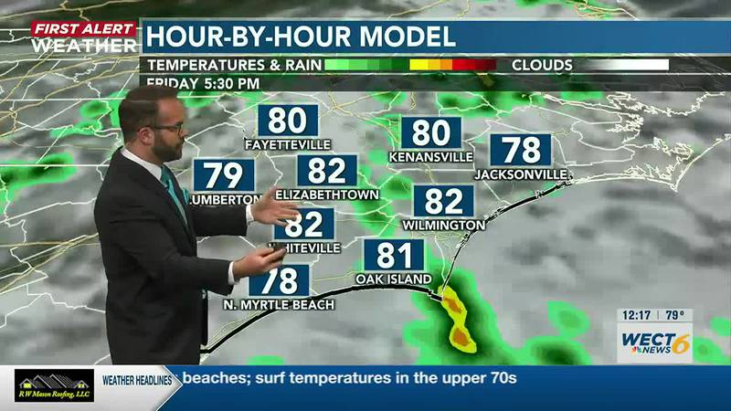 Your First Alert Forecast from Fri. Afternoon, Jun. 25, 2021