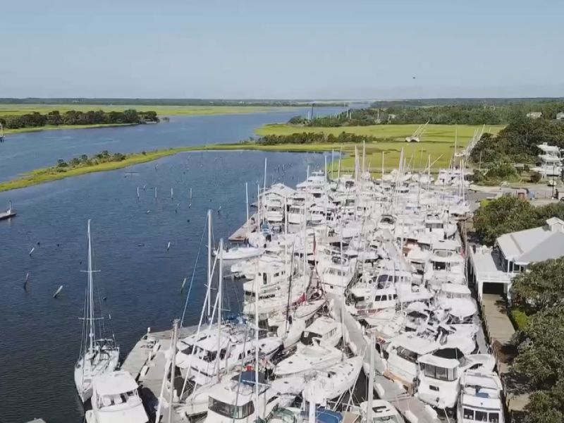 Cost of repairs to Southport Marina following Hurricane Isaias exceed $6 million (Source: Tela...