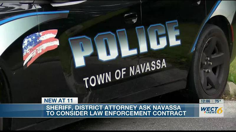 Brunswick County DA, Sheriff urge Navassa leaders to consider contract with Sheriff's Office