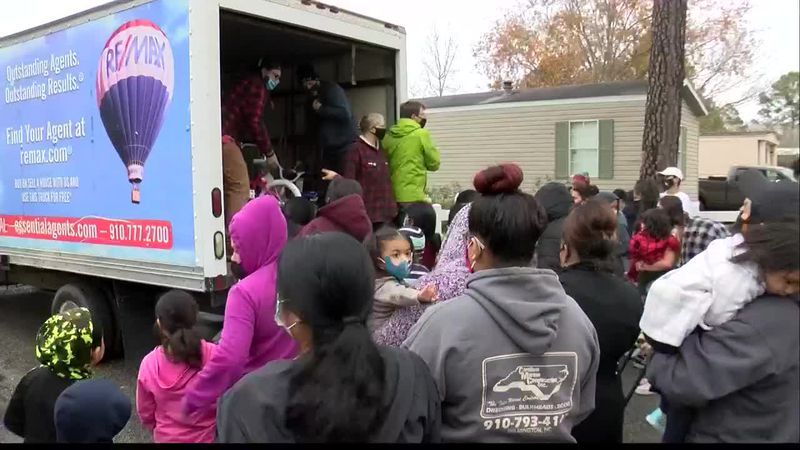 Organizations team up to donate over 200 bikes to children