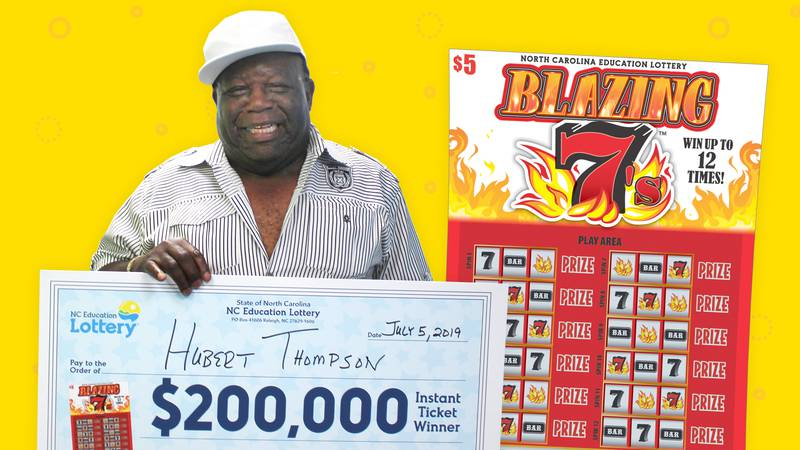 Hubert Thompson, a truck driver from Whiteville, delivered a $200,000 prize to his retirement...