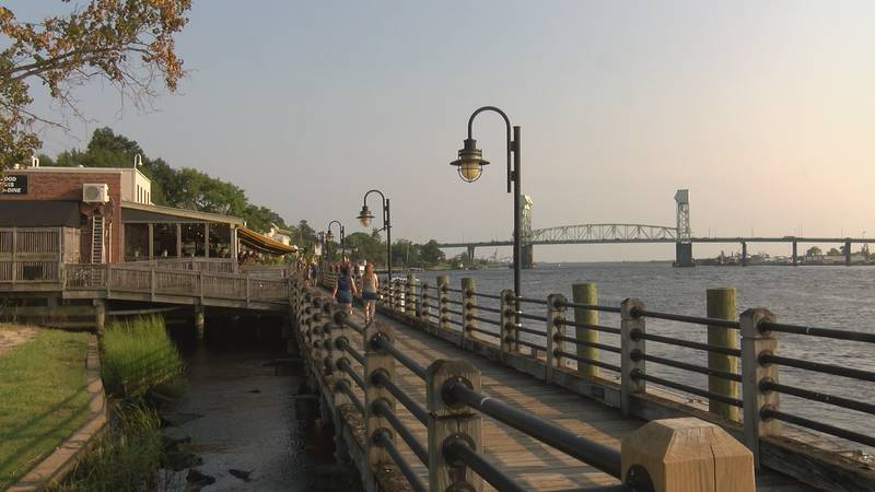 Heat index values reached 110 in Wilmington Friday
