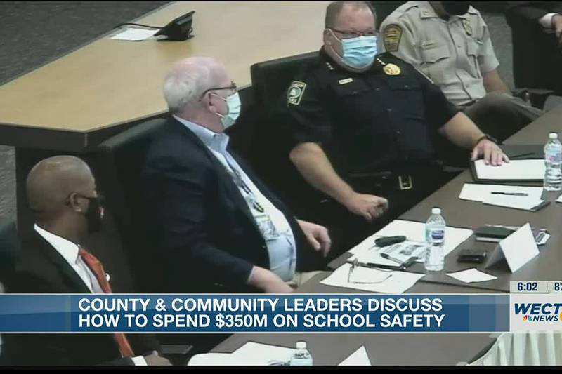 County leaders host work session on school safety ahead of commission meeting Monday
