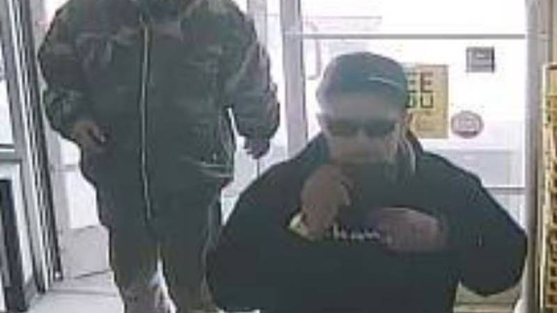 The WPD is looking to identify the people in this surveillance picture after a larceny at the...
