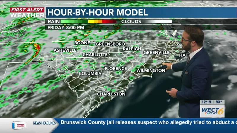 Your First Alert Forecast from Fri. Afternoon, May 28, 2021