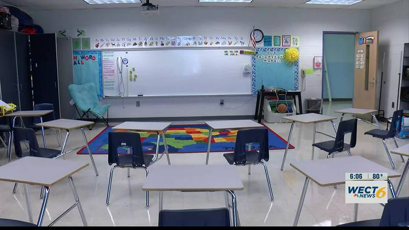 Pender County school board votes to move forward with in-school COVID testing program