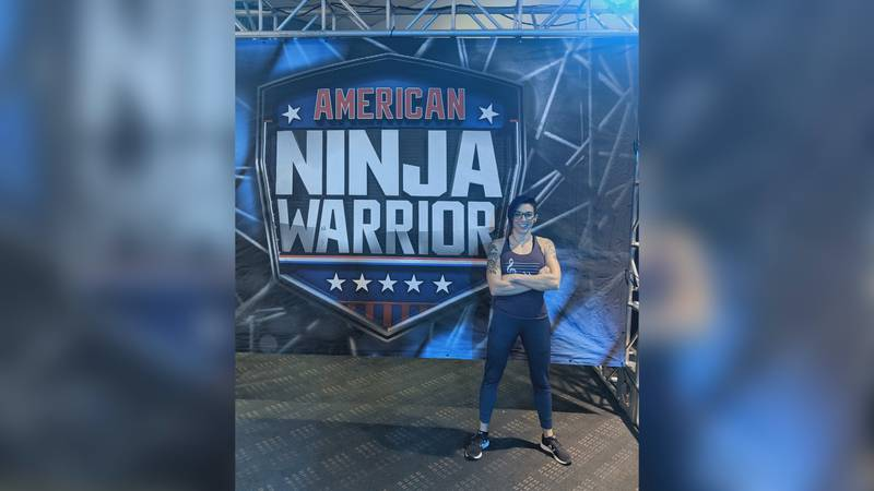 Megan Budway, UNCW Alum, competes on Season 13 of NBC's American Ninja Warrior.