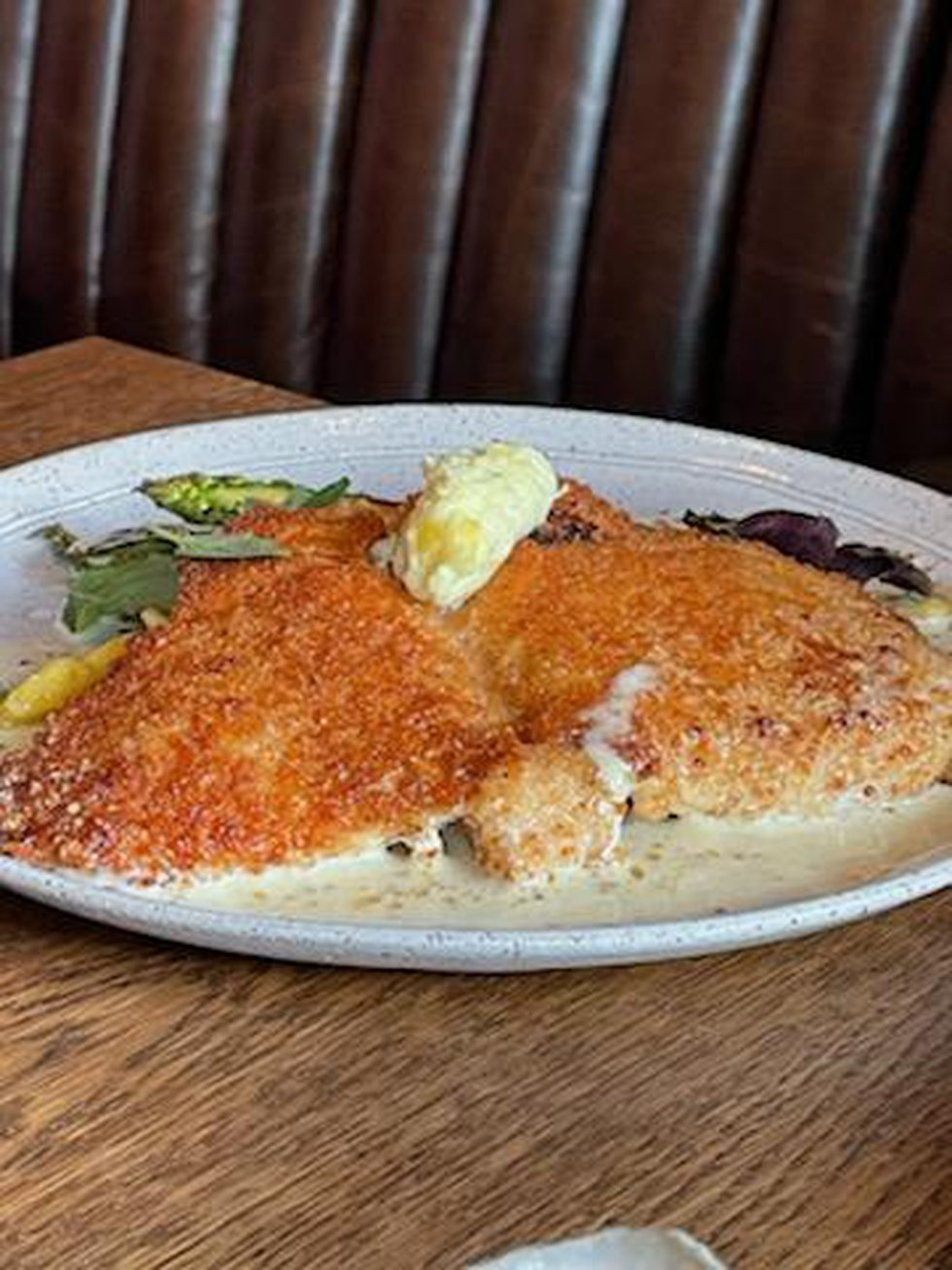 A nod to German cuisine with a touch of southern charm, the Mahi Schnitzel is a flavor bending...