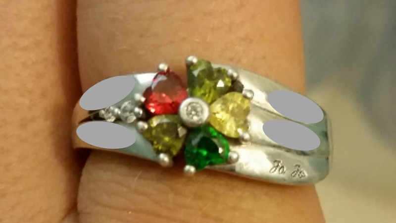 One woman is hoping to find the owner of this ring which was found in the ocean along Myrtle...