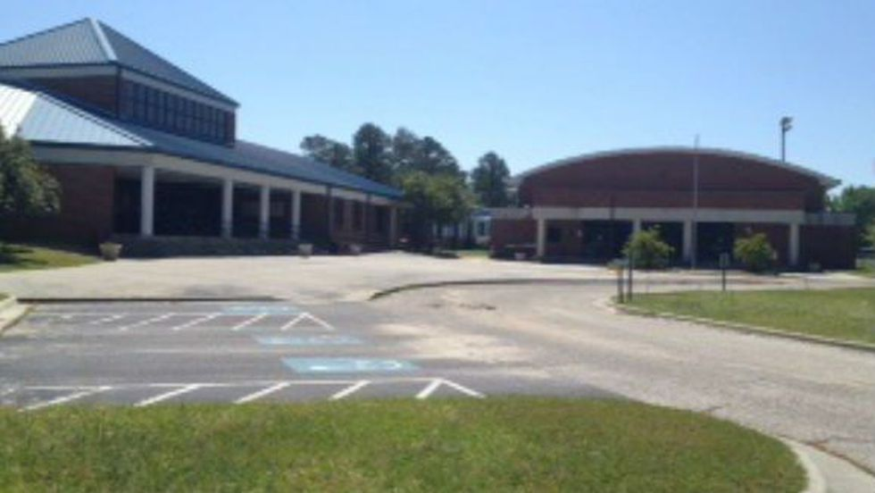 Spring break isn't the only reason why one student in Bladen County is at home for a few days.