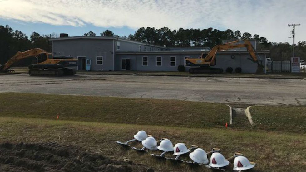 A groundbreaking ceremony was held Tuesday morning at the North Carolina Army National Guard's...