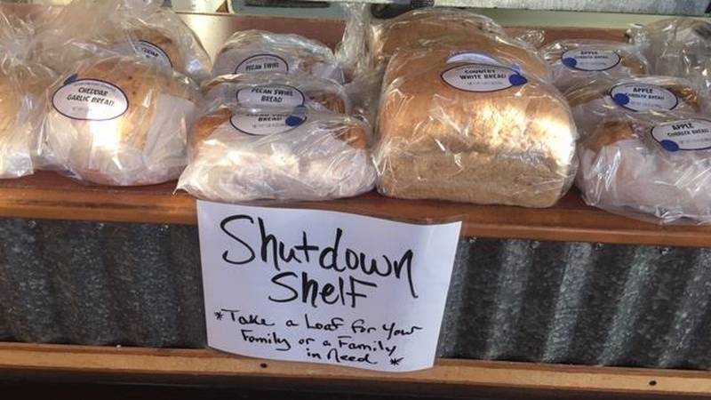 Great Harvest Bread Company in Wilmington is one of many local businesses helping federal...