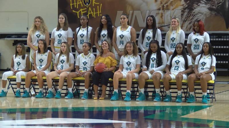 2021-22 UNCW Women's Basketball Team