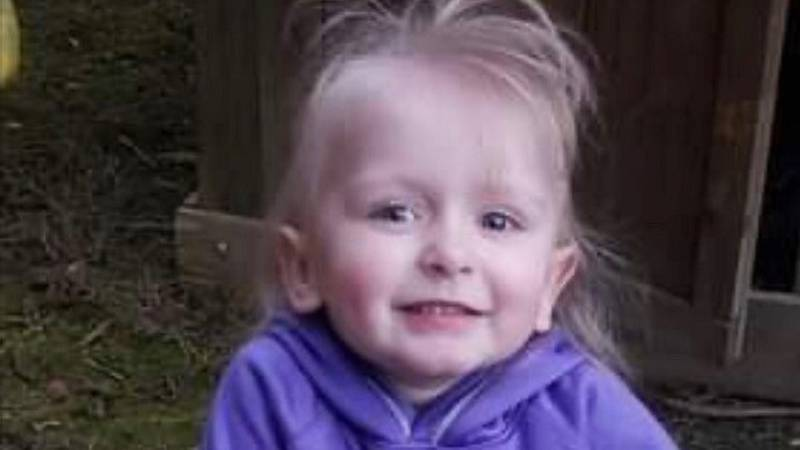 Authorities said missing 3-year-old Khaleesi Cuthriell is now believed to be dead.
