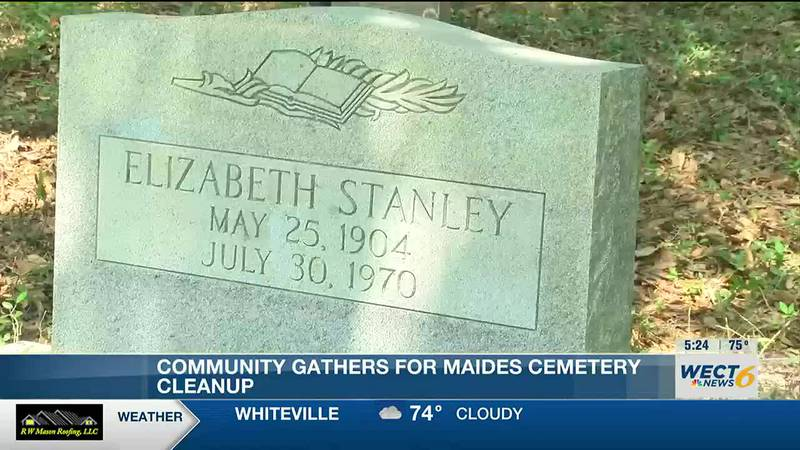 Maides Cemetery clean up event