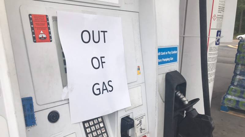 WILMINGTON, N.C. (WECT) - If you spent part of your day searching for gas, you're not alone....