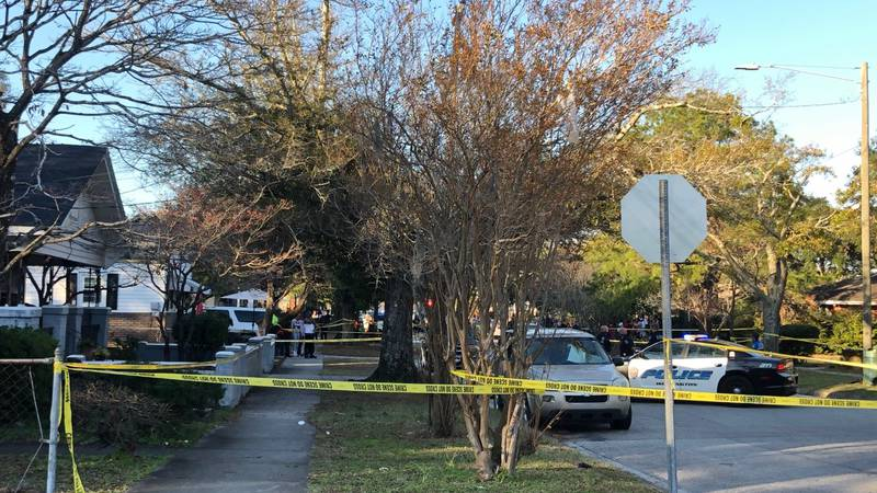 Multiple units are investigating a crime scene on 12th Street Friday afternoon