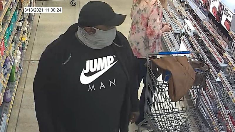 The New Hanover County Sheriff's Office is asking for help identifying two people it believes...
