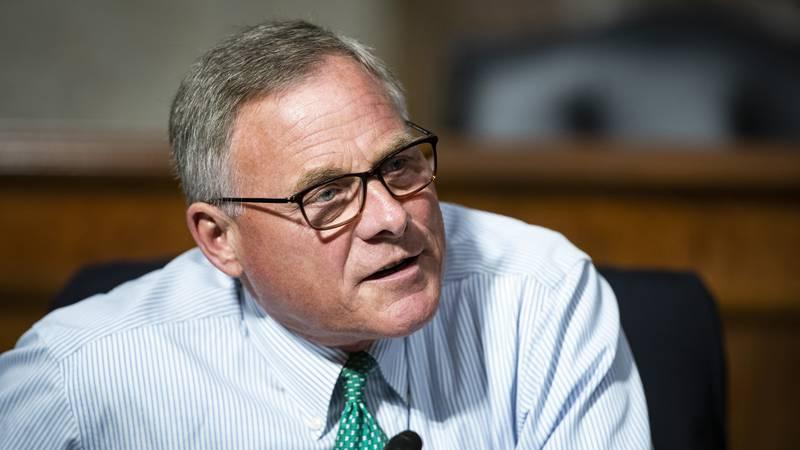 FILE - Sen. Richard Burr, R-N.C., speaks during a Senate Health, Education, Labor and Pensions...
