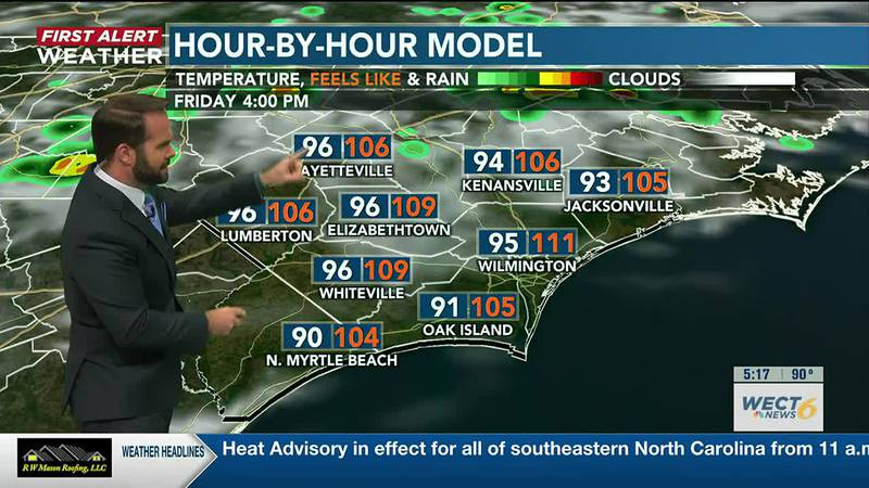 Your First Alert Forecast from Thu. Evening, Jul. 29, 2021