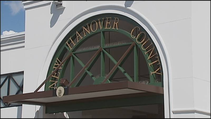 The New Hanover County Board of Commissioners holding public hearings to consider two...